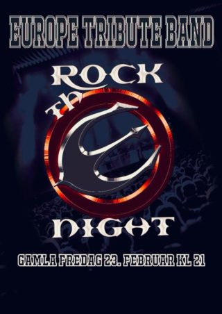 TRIBUTE TO EUROPE m/ ROCK THE NIGHT + Support TBA 1