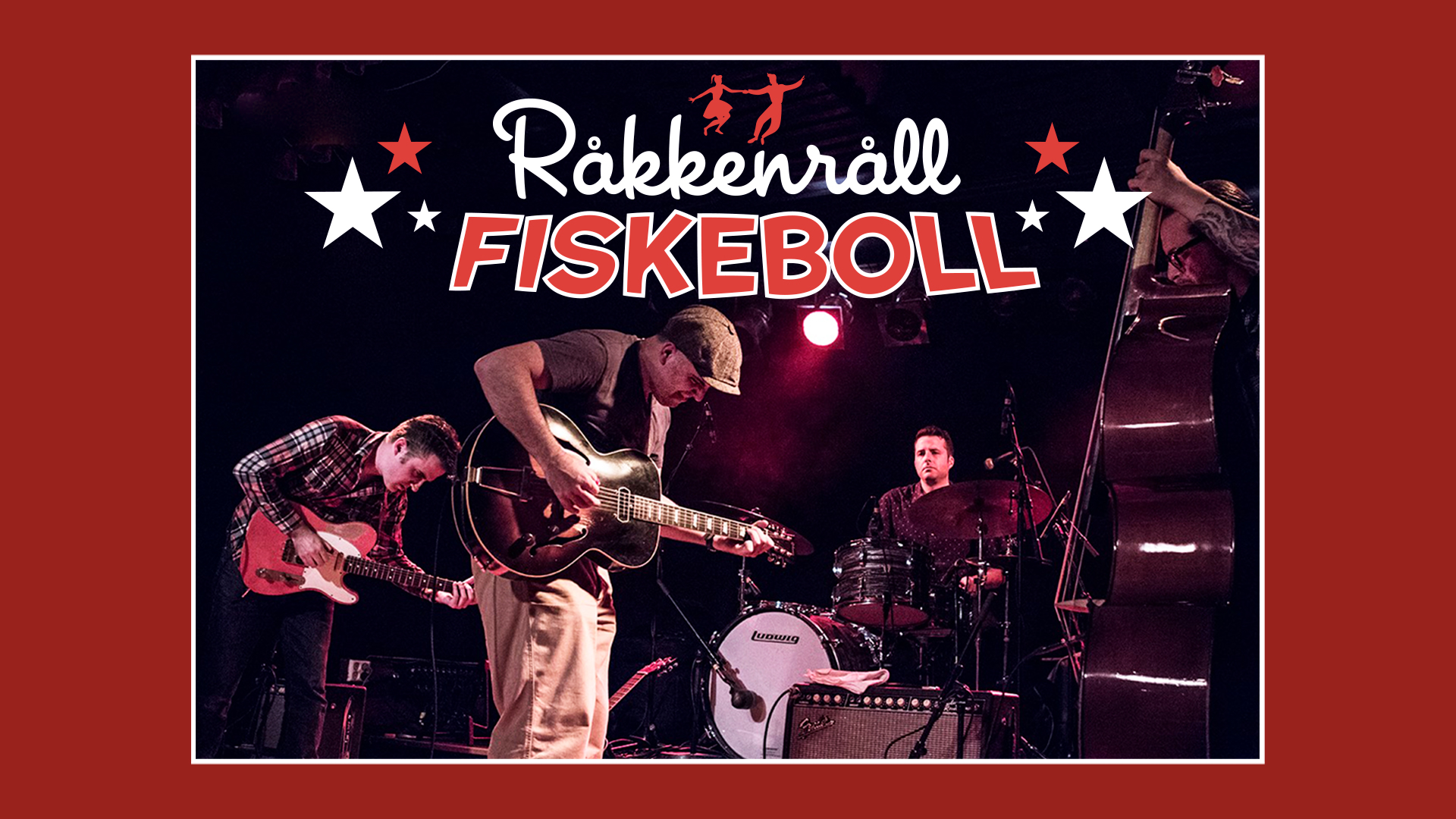 RÅKKENRÅLL FISKEBOLL RETRO-KLUBB & AFTEN-PARTY #2